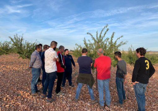 Prunotec ha realizado unas jornadas formativas sobre el cultivo del almendro y pistacho